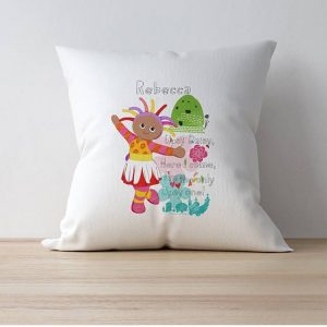 Personalised Upsy Daisy Cushion