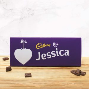 Personalised 360g Cadbury Dairy Milk Bar
