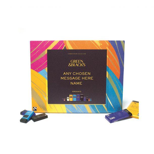 Personalised Green & Blacks 540g Chocolate Box