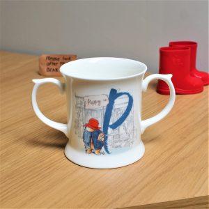 Personalised Paddington Bear Initial Loving Cup