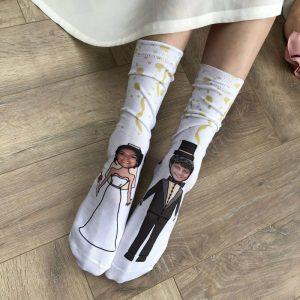 Personalised Photo Engagment Wedding Socks