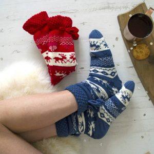 Apres Ski Personalised Slipper Boots
