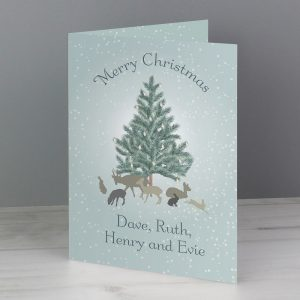 Personalised A Winter's Night Card