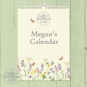 Personalised Country Diary A4 Wall Calendar