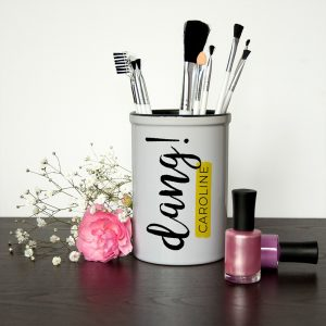 Personalised Dang Brush Holder