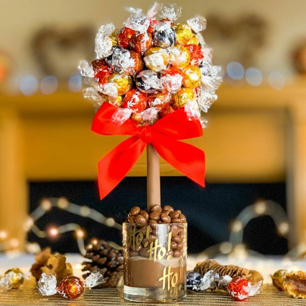 Personalised Mixed Lindt Lindor Sweet Trees