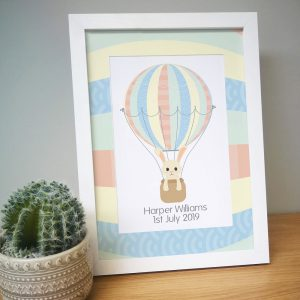 Personalised New Arrival A4 Framed Print