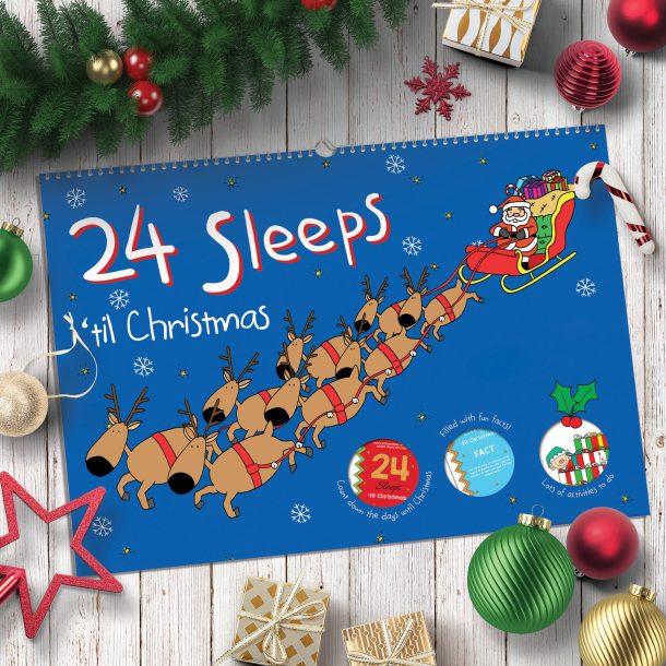 24 Sleeps Til Christmas Activity Book