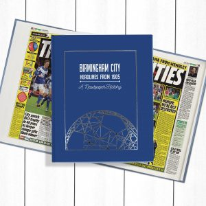 Birmingham Football Newspaper Book - Personalise it Later