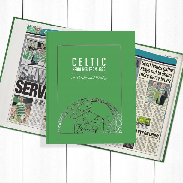 Celtic Football Newspaper Book - Personalise it Later