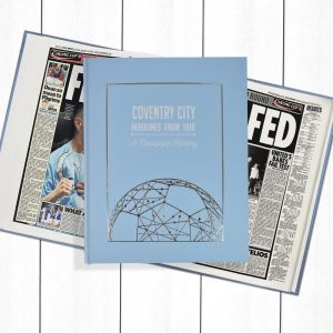 Coventry Football Newspaper Book - Personalise it Later
