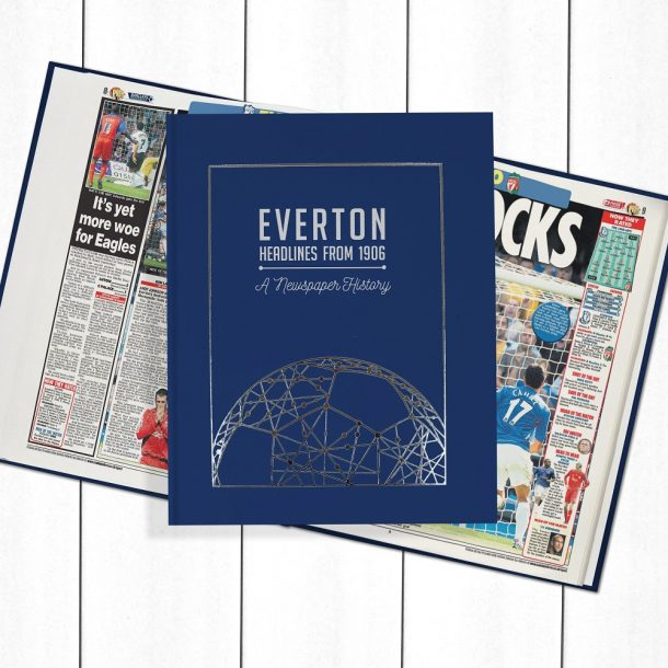 Everton Football Newspaper Book - Personalise it Later