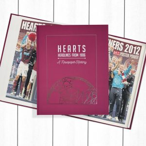 Hearts Football Newspaper Book - Personalise it Later