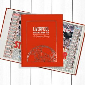 Liverpool Newspaper Book - Personalise it Later