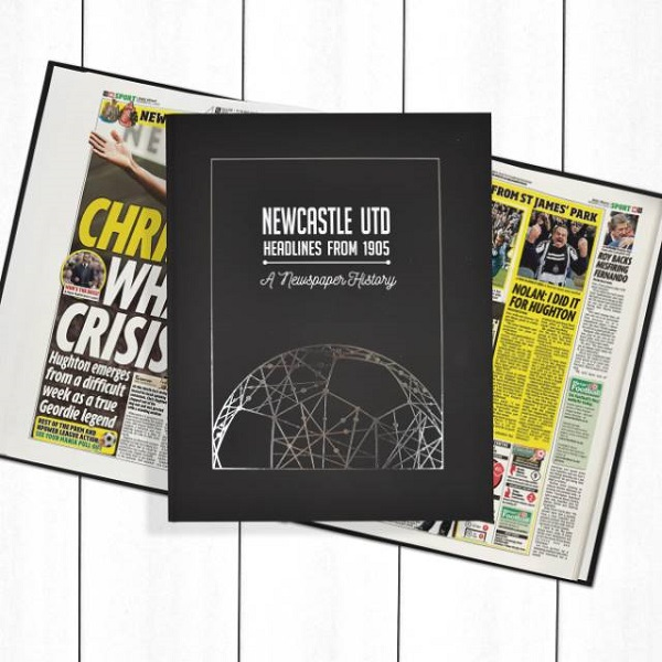Newcastle Newspaper Book - Personalise it Later