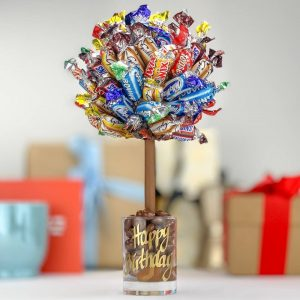 Personalised Celebrations Sweet Trees