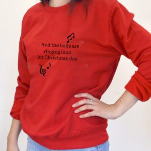 Personalised Christmas Song Jumper