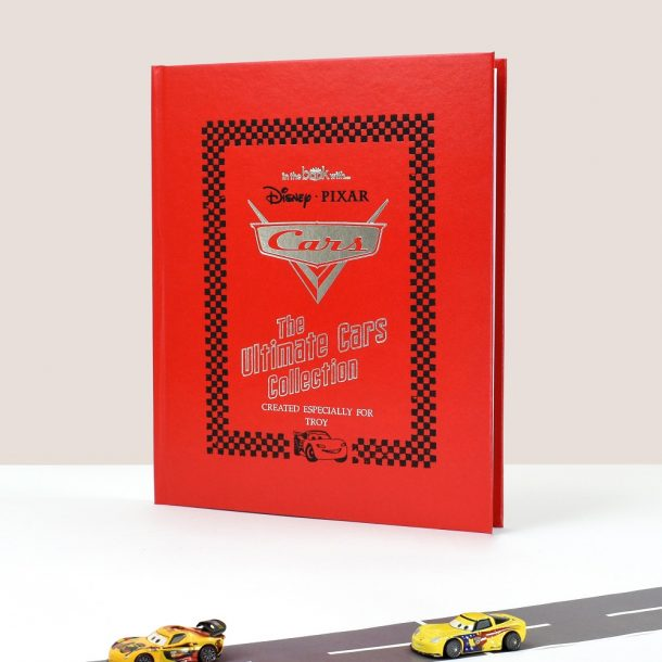 Personalised Disney Cars Standard Collection Book