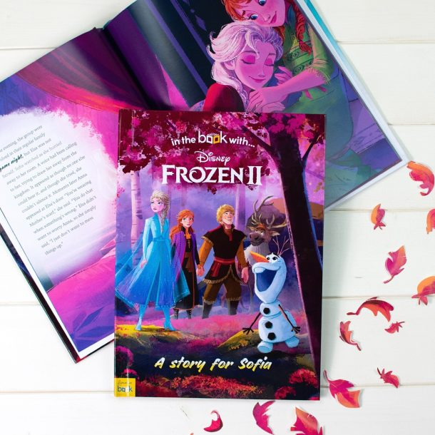 Personalised Frozen 2 Hardback Book