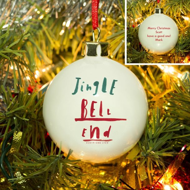 Personalised HotchPotch Jingle Bell Bauble