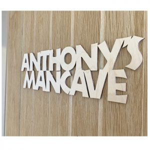 Personalised Mancave Sign