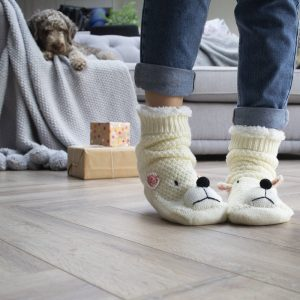 Personalised Polar Bear Slippers