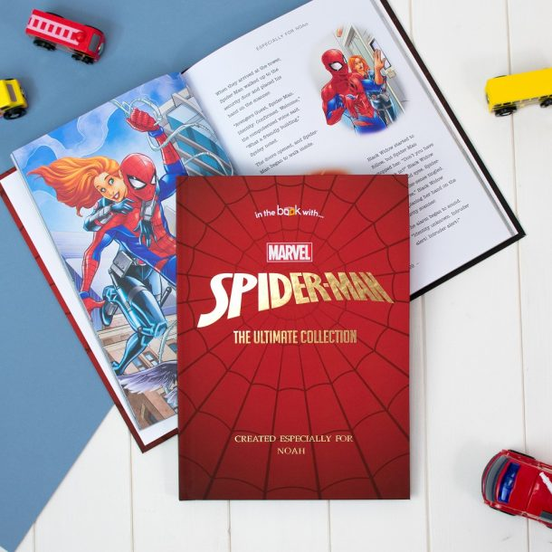 Personalised Spider-Man Collection Standard Book