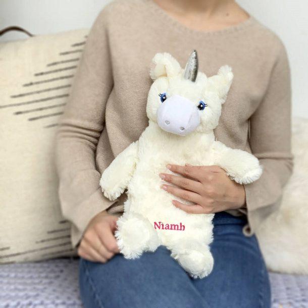 Personalised Unicorn Hot Water Bottle