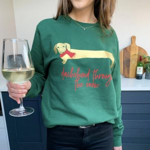 Sausage Dog Christmas Jumper