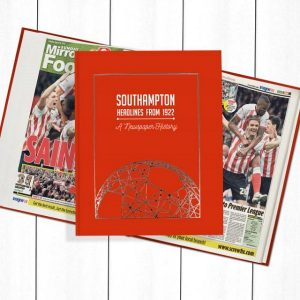 Southampton Newspaper Book - Personalise it Later