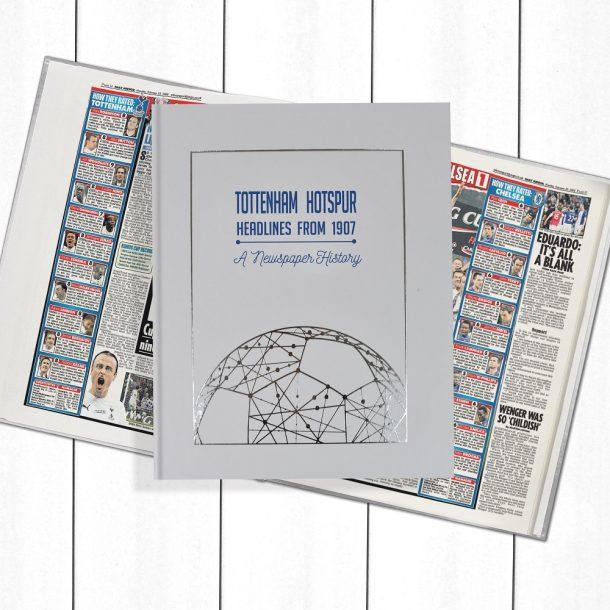 Tottenham Hotspur Newspaper Book - Personalise it Later