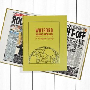 Watford Newspaper Book - Personalise it Later