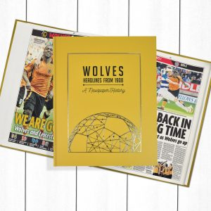 Wolves Newspaper Book - Personalise it Later