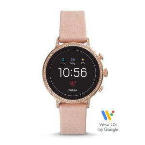 Fossil Gen 4 Smartwatch Venture HR Blush Leather