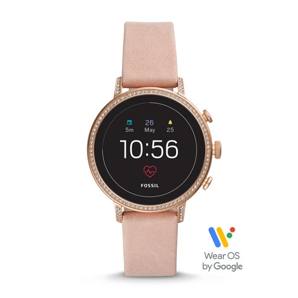Fossil Gen 4 Smartwatch Venture HR Blush Leather