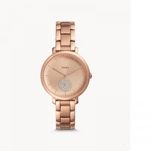 Fossil Jacqueline Rose Gold Watch