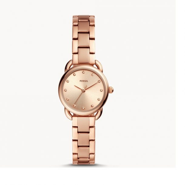 Fossil Tailor Mini Rose Gold Tone Watch