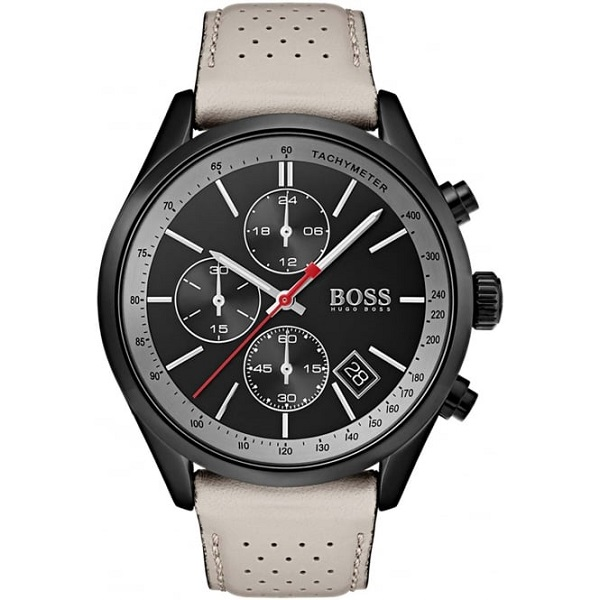 Hugo Boss Grand Prix Black Chronograph Dial Watch