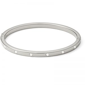 Ladies Fossil Dot Crystal Bangle