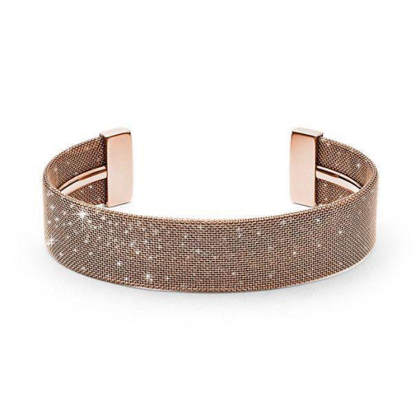 Ladies Skagen Merete Rose-Tone Bracelet