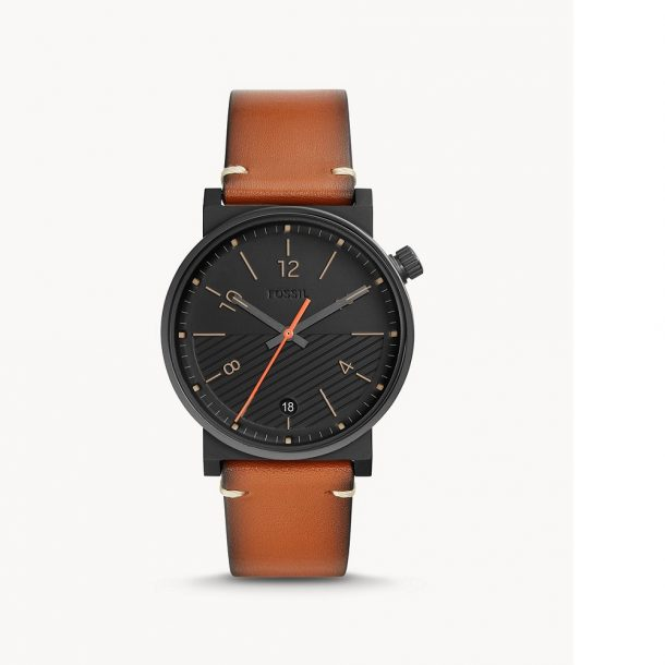 Men's Fossil Barstow Leather Watch