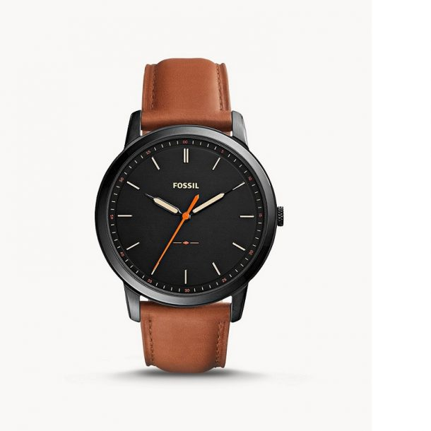 Men's Fossil Brown Leather Watch