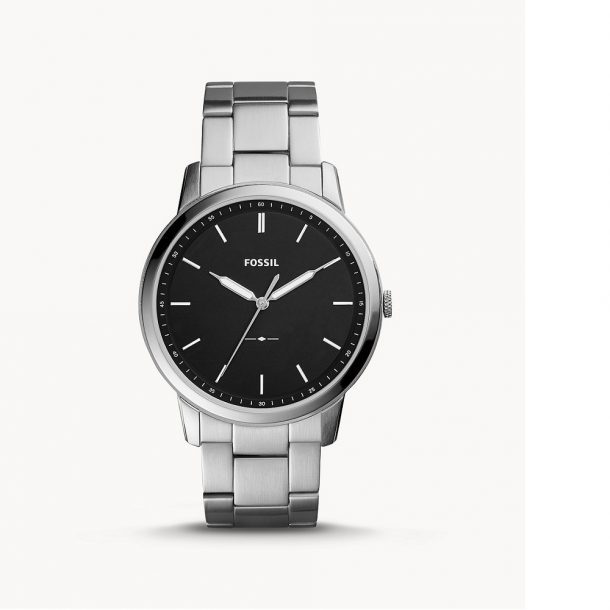 Men's Fossil Minimalist Stainless Steel Watch