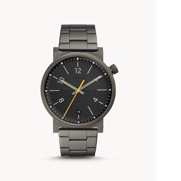 Men's Fossil Smoke Stainless Steel Watch