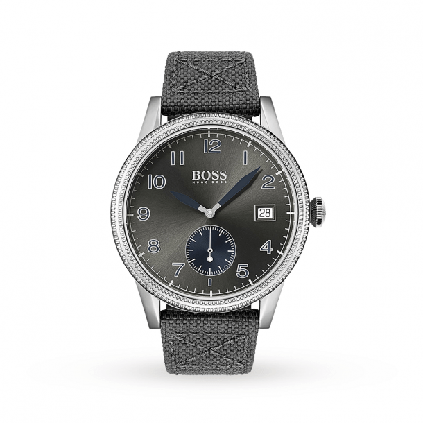 Men's Hugo Boss Grey Legacy Watch