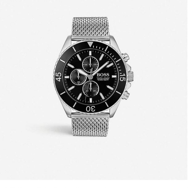 Men's Hugo Boss Ocean Addition Stainless Steel Watch