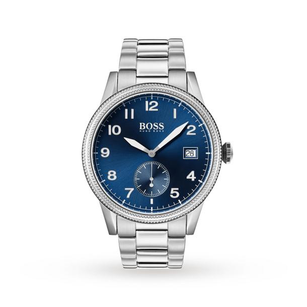 Men's Hugo Boss Silver Legacy Watch