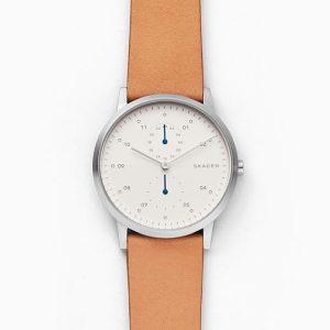 Men's Skagen Kristoffer Leather Watch