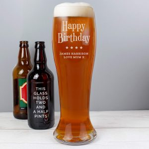Personalised Giant Beer Glass