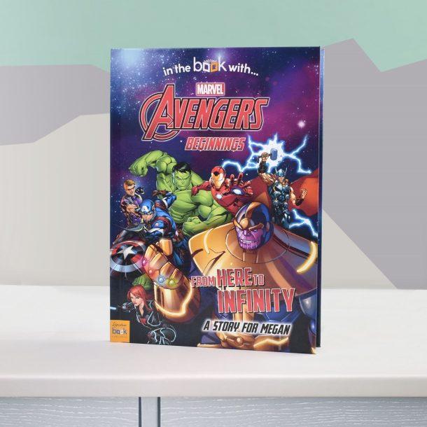Personalised Avengers Beginnings Softback Book
